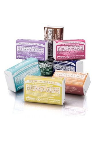 DR  BRONNER'S Pure Castile Soap Bar | BuyMyThings | Skin and