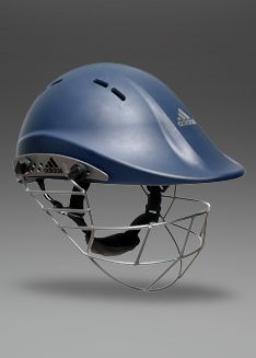 Adidas Adipower Premiertek Junior Helmet Navy Batting