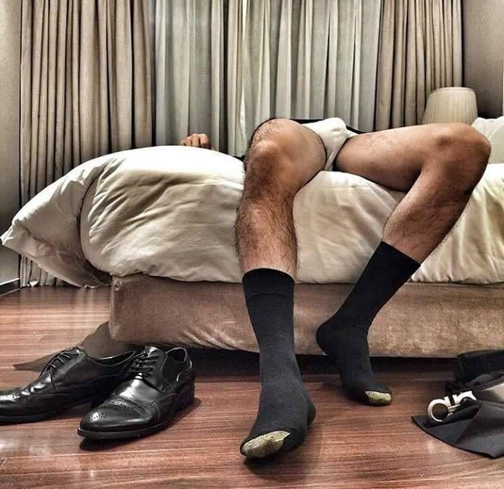 Black socks gay