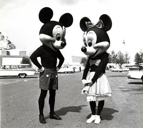 Mr. & Mrs. Mouse.