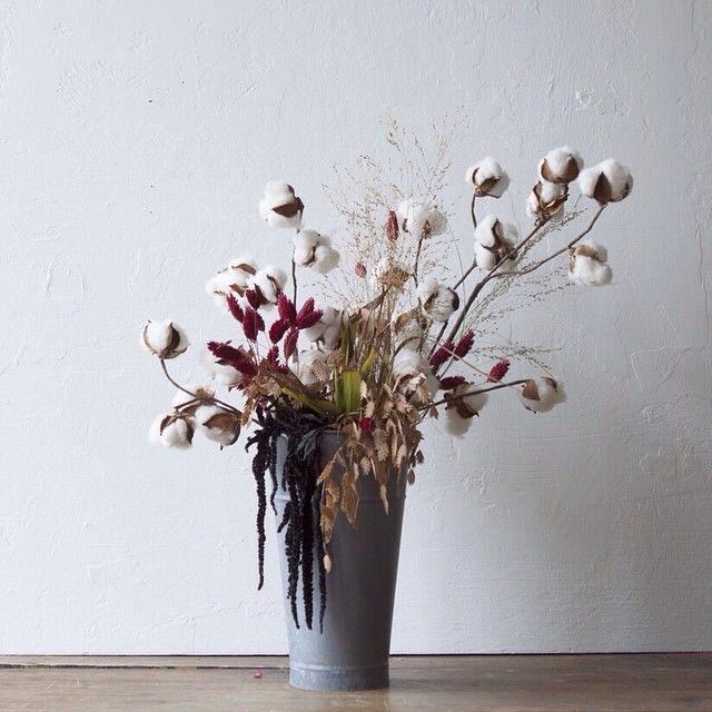 Shopterrain Instagram Photos And Videos Flower Arrangements Dried Flowers Cotton Bouquet