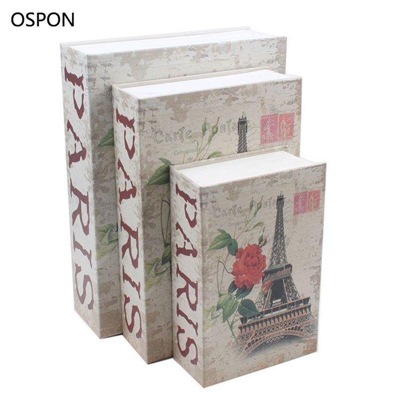 OSPON Book Safes Simulation Dictionary Secret Book Safe Money Cash