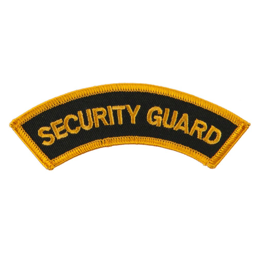 security patches, security officer patches, security emblem. Buckeye Embroidered  Patch
