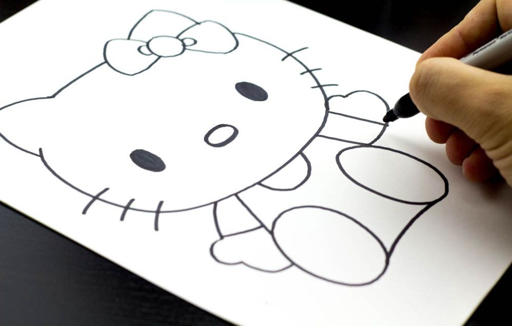 Hello Kitty Butterfly Coloring Pages : Tribal hello kitty tattoos hello kitty and tattoo