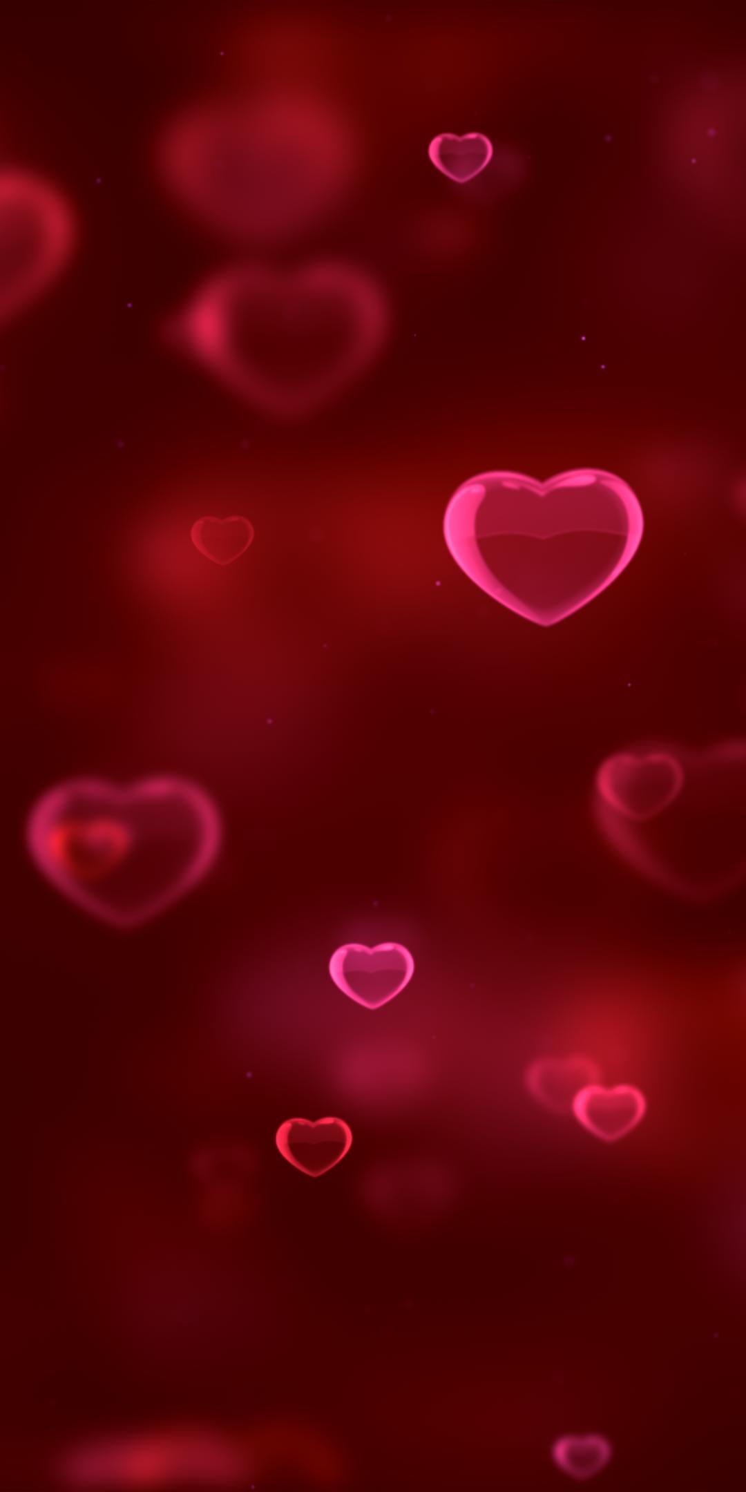 Love Red Hearts Girly Pink Blur 1080x2160 Wallpaper Love Wallpaper Backgrounds Pink Wallpaper Iphone Valentines Wallpaper