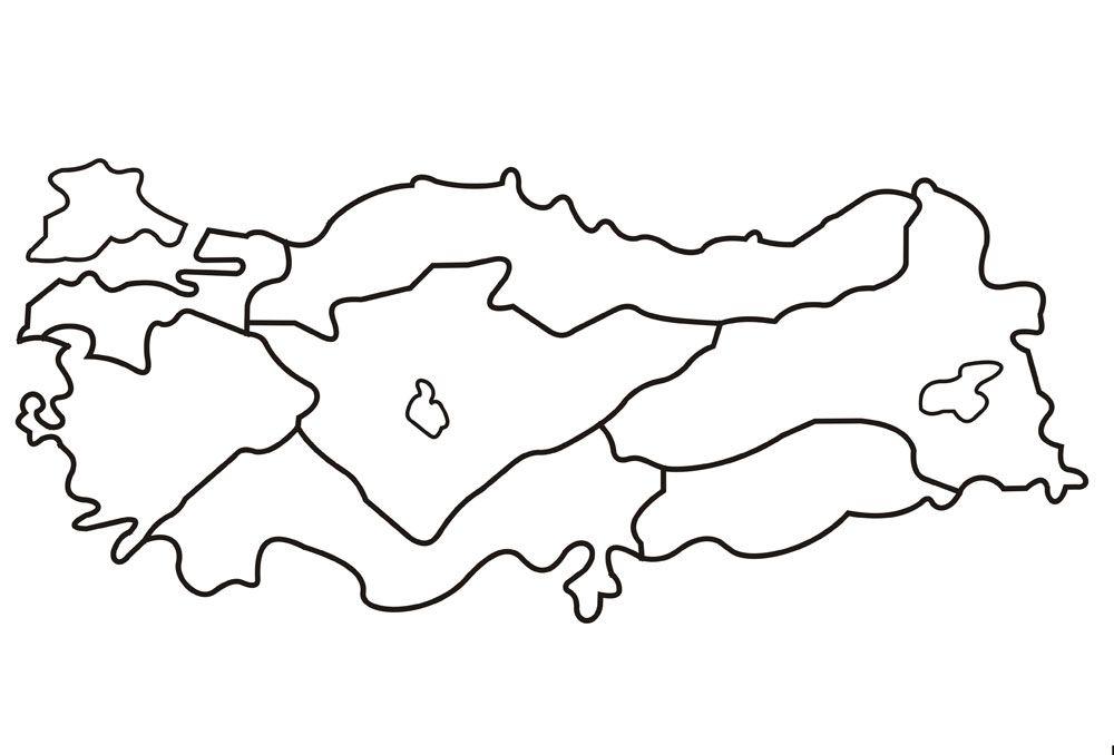 27 Dünya Haritası Boyama Sayfaları Design Gallery