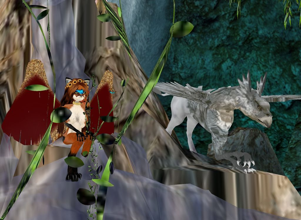 Captured Inside IMVU Join the Fun! Tame Griffon and