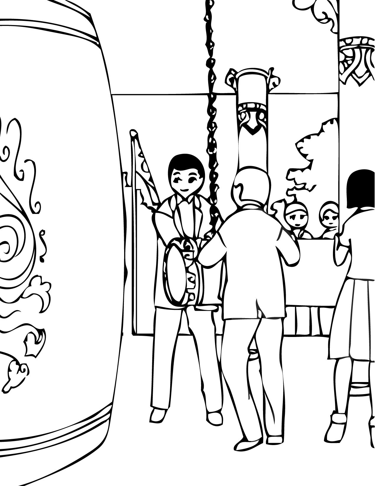 korea coloring page print this page korean holidays coloring pages coloring pages