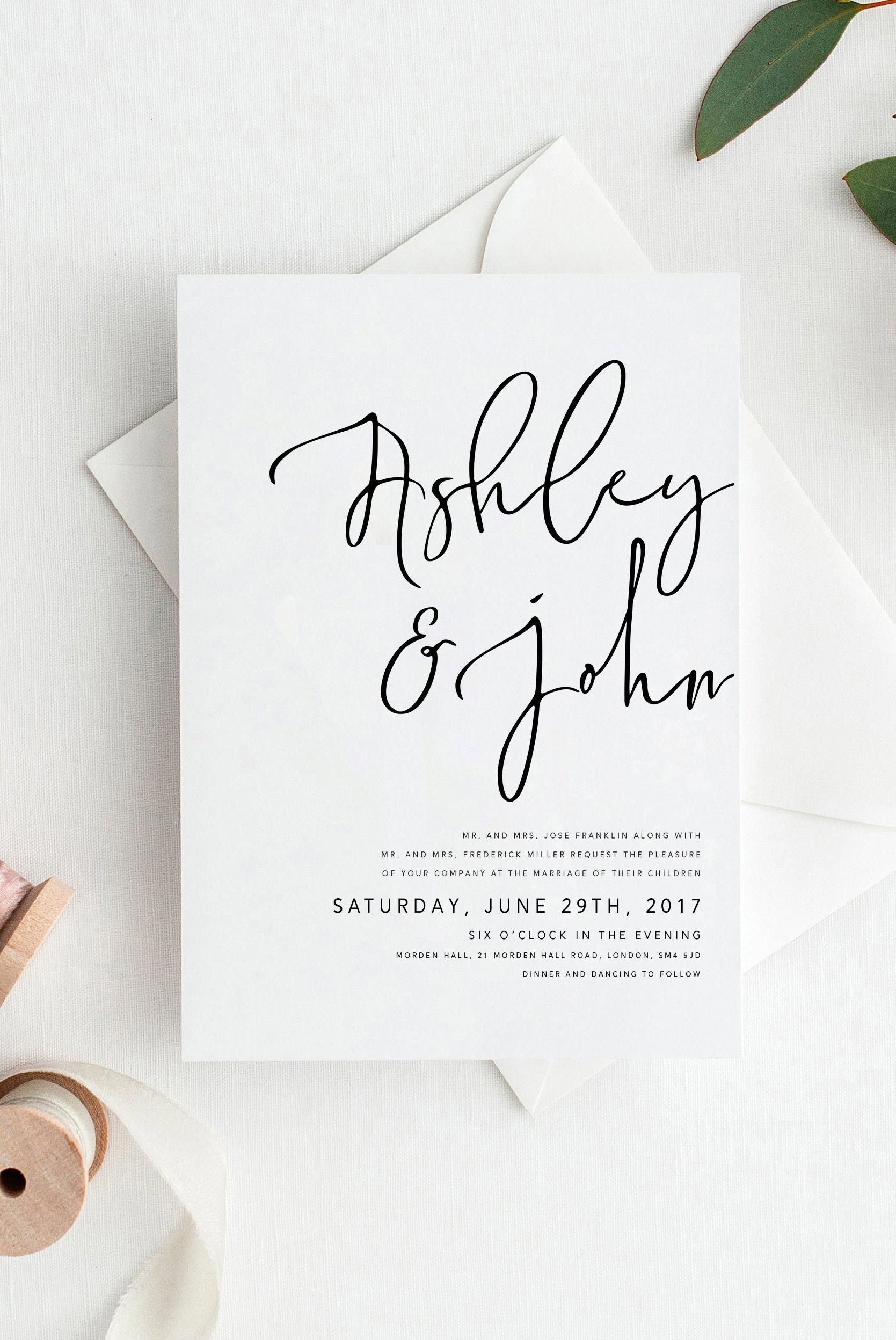 There Are Countless Ready Made Wedding Invitations To Select From Just Choose A Desi Wedding Invitations Diy Blush Wedding Invitations Fun Wedding Invitations