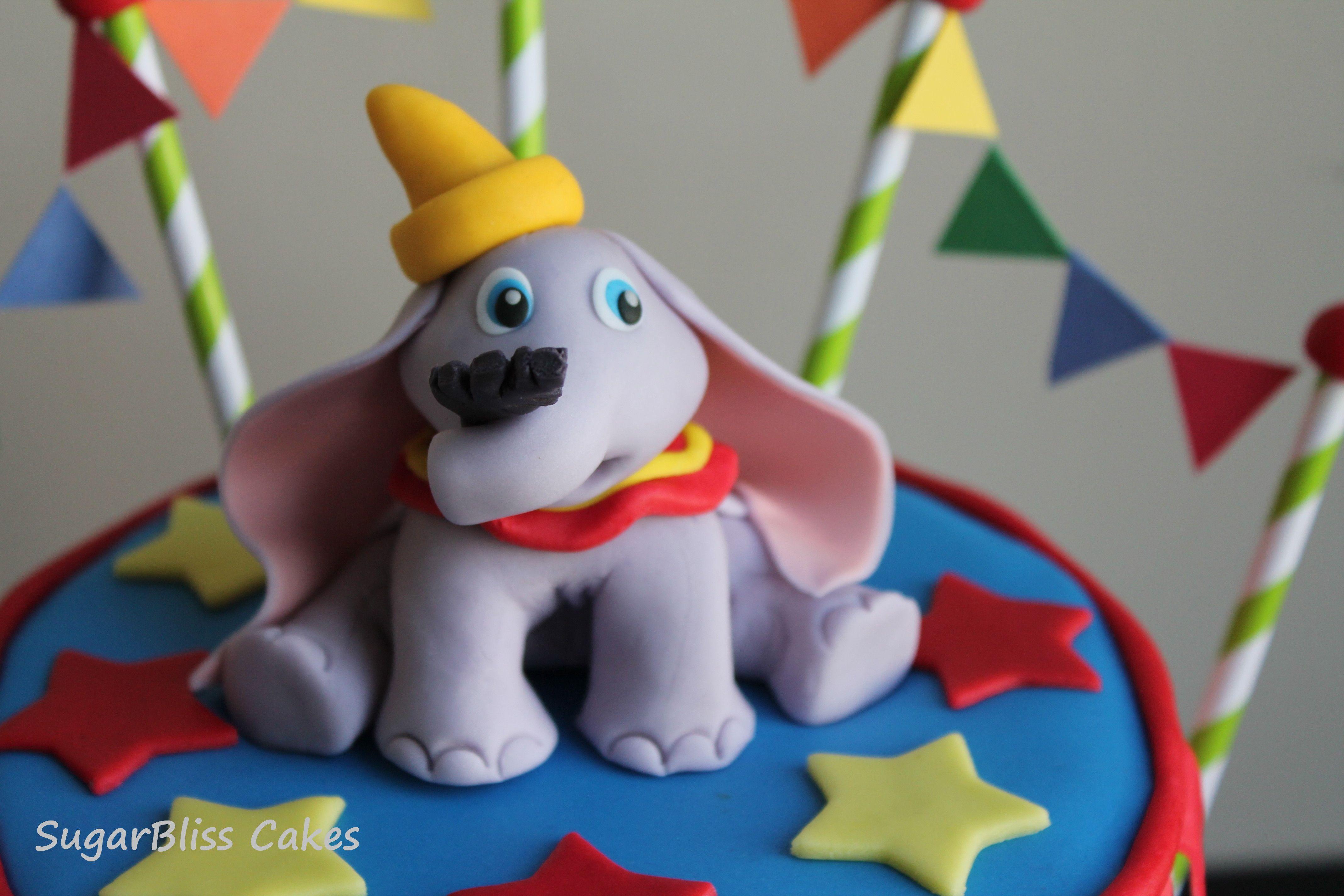 Dumbo cake topper dumbo cake cake toppers 1st birthday