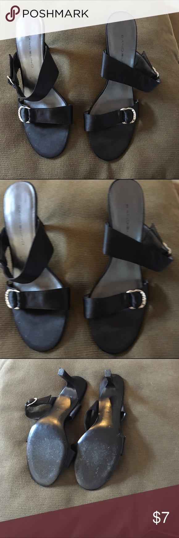 Black sandals 2 inch heel - Black Sandals 2 Inch Heel 36