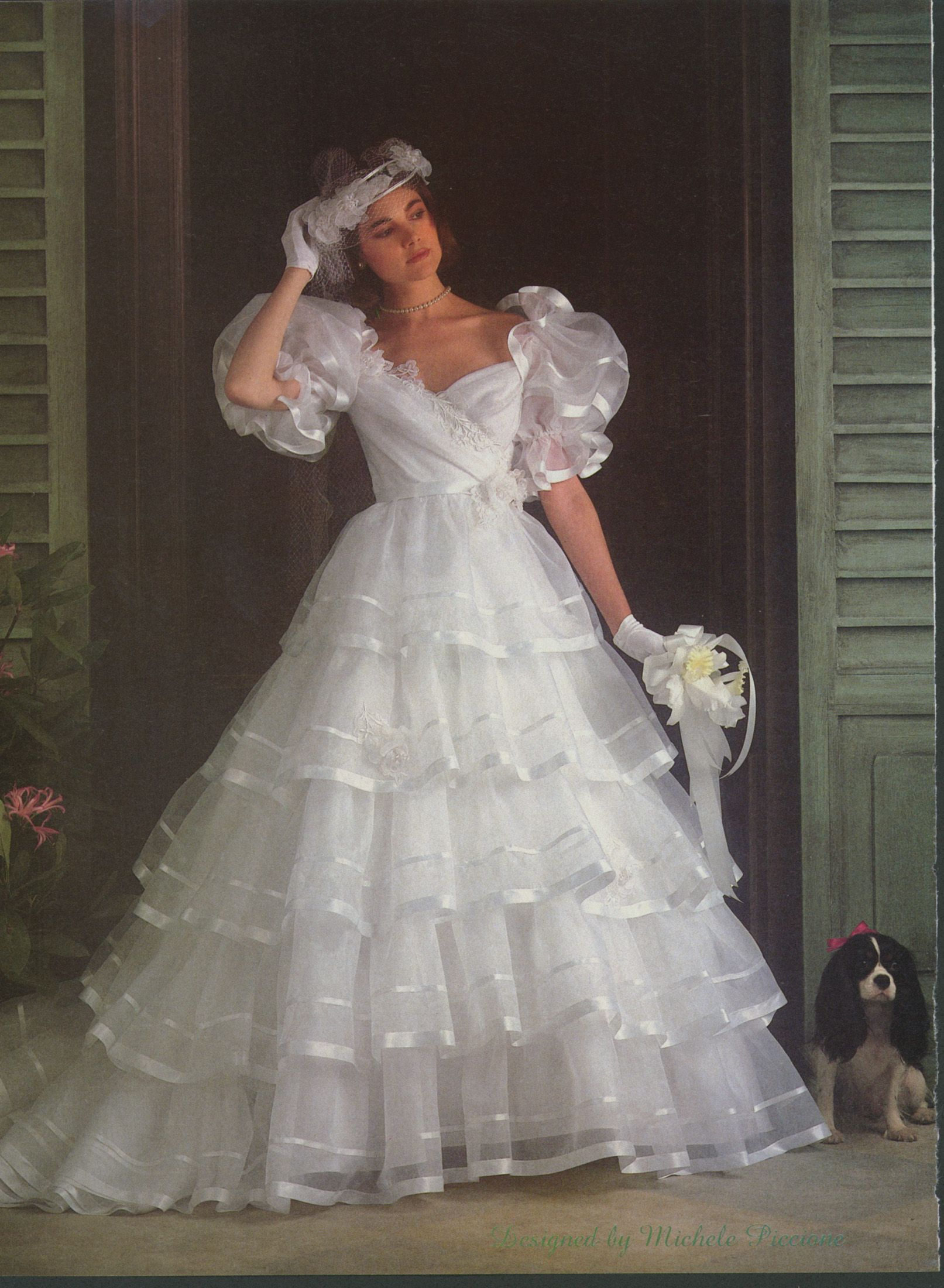 Brides Dec 1984/Jan 1985 | 1980\'s wedding dress | Pinterest ...