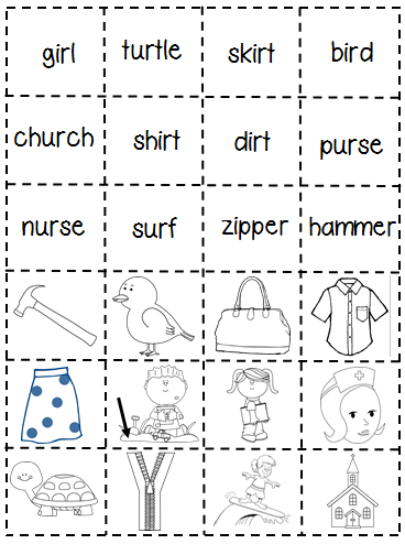 Do your students need more work on the sounds er, ir and