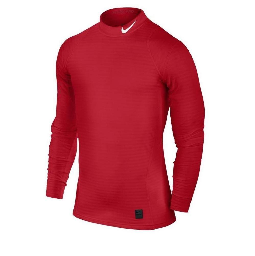 c67c66d87 Nike Mens L Pro Warm Compression DriFIT Training Shirt Red Large 725037-658  #Nike #ShirtsTops