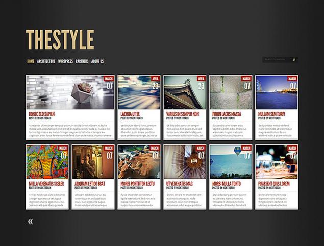 Customizing TheStyle: One Theme, FiveWays — Blog — WordPress.com