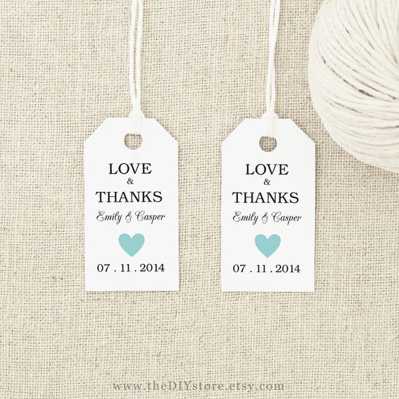Gift Tag Printable, Text Editable, SMALL Tag Size, INSTANT