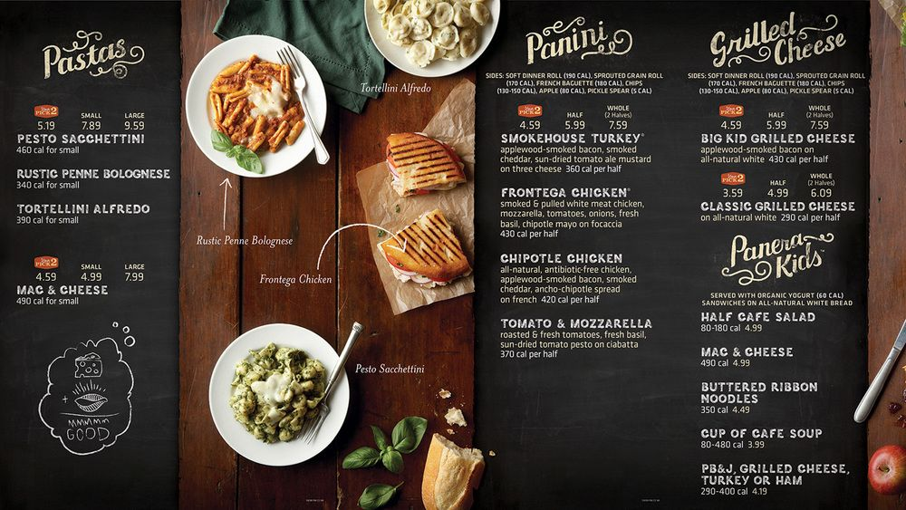 photo relating to Panera Printable Menu named Pin as a result of Jenay Carriere upon Ice Product Parlor Bakery menu