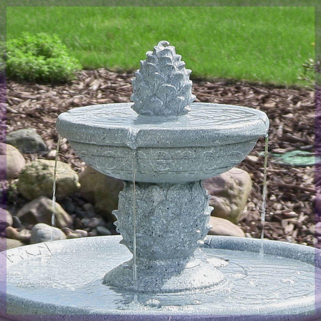 garden decor sale uk  Solar outdoor fountain, Solar fountain