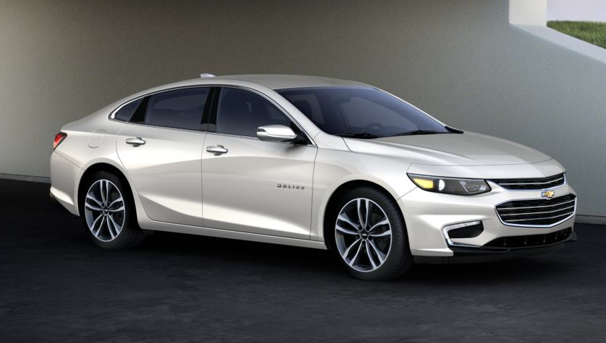 2016 Chevy Malibu In Iridescent Pearl Tricoat Malibu Car Fuel