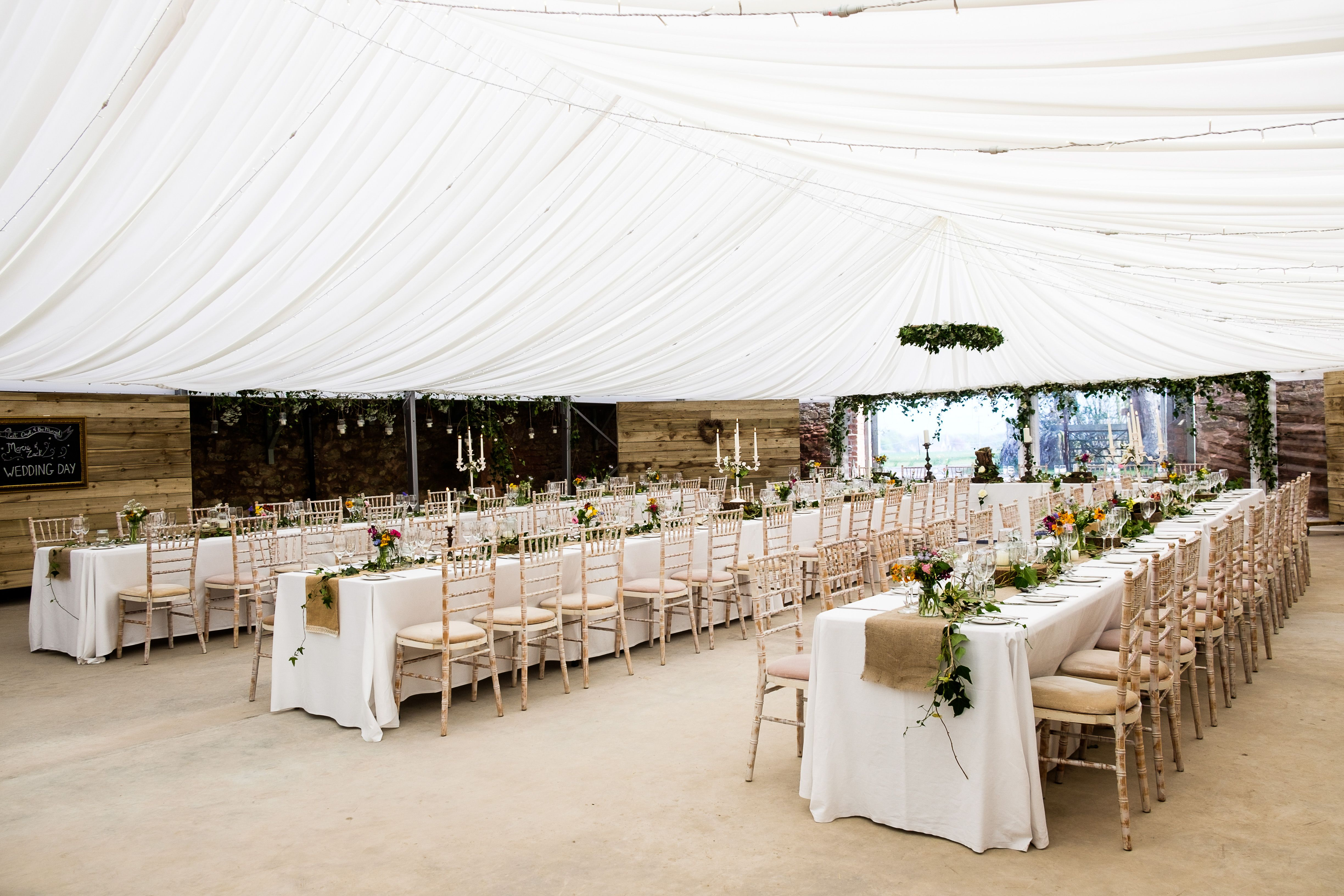 The Cow Shed Crail Marquee Looking Great Suzanneblackphotography Weddings Scotland Fife