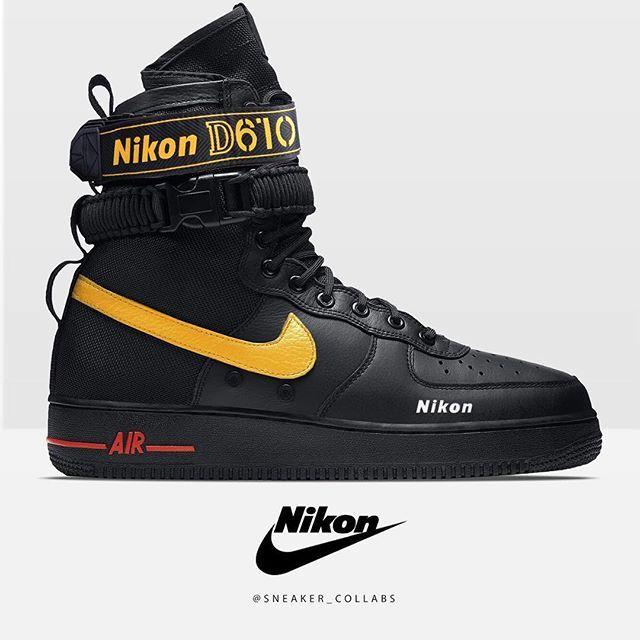 the best attitude db111 45f91 📸KICKS or CAM📸Nikon x Nike SF Air Force 1Nike x Nikon D750B