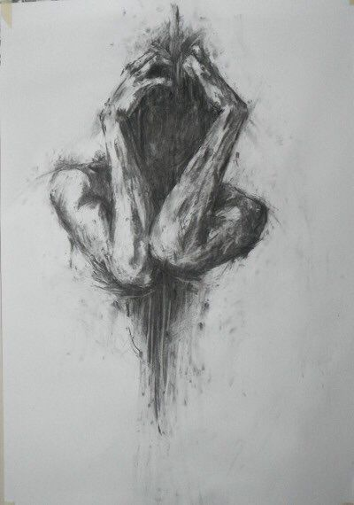 Art artistic beautiful dark draw drawing hiding meaning paint pencil picture talent talented