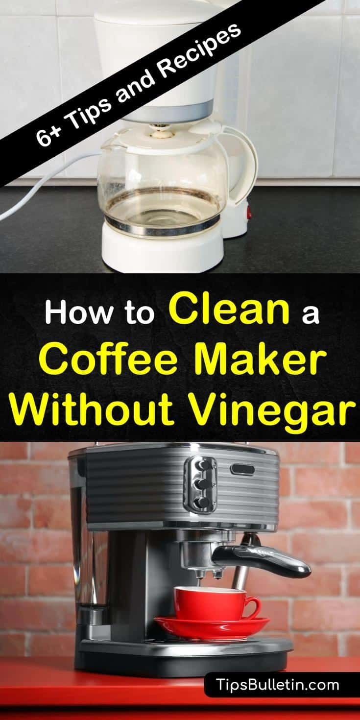 7 creative ways to clean a coffee maker without vinegar