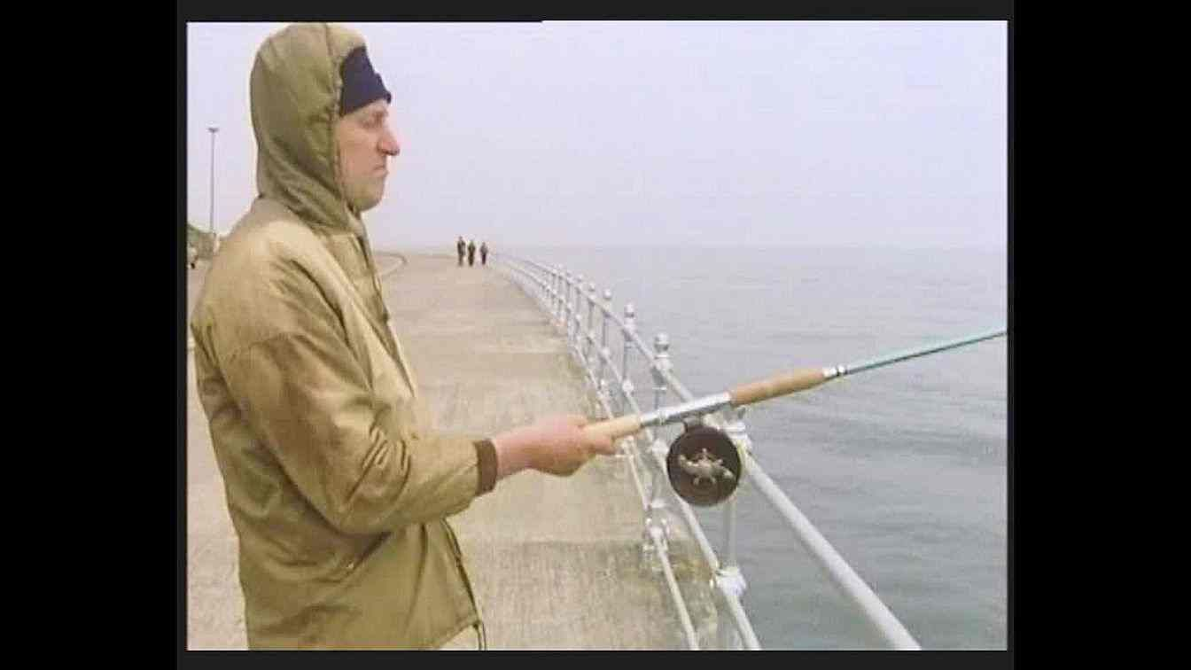 Episode 18: Cheering Up Gordon - Gordon fishing in the North Sea while at Scarborough on vacation.