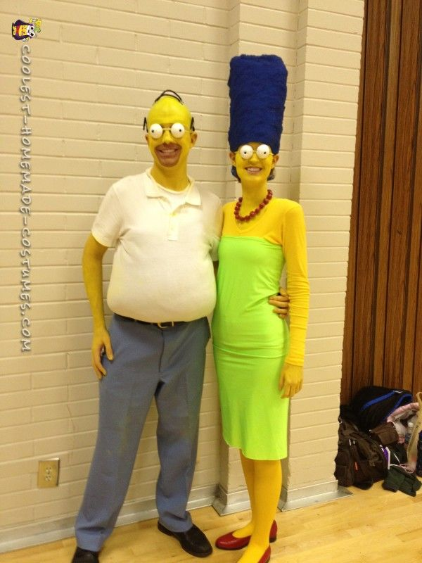 The Greatest Simpsons Costume Ever Costumes Simpsons