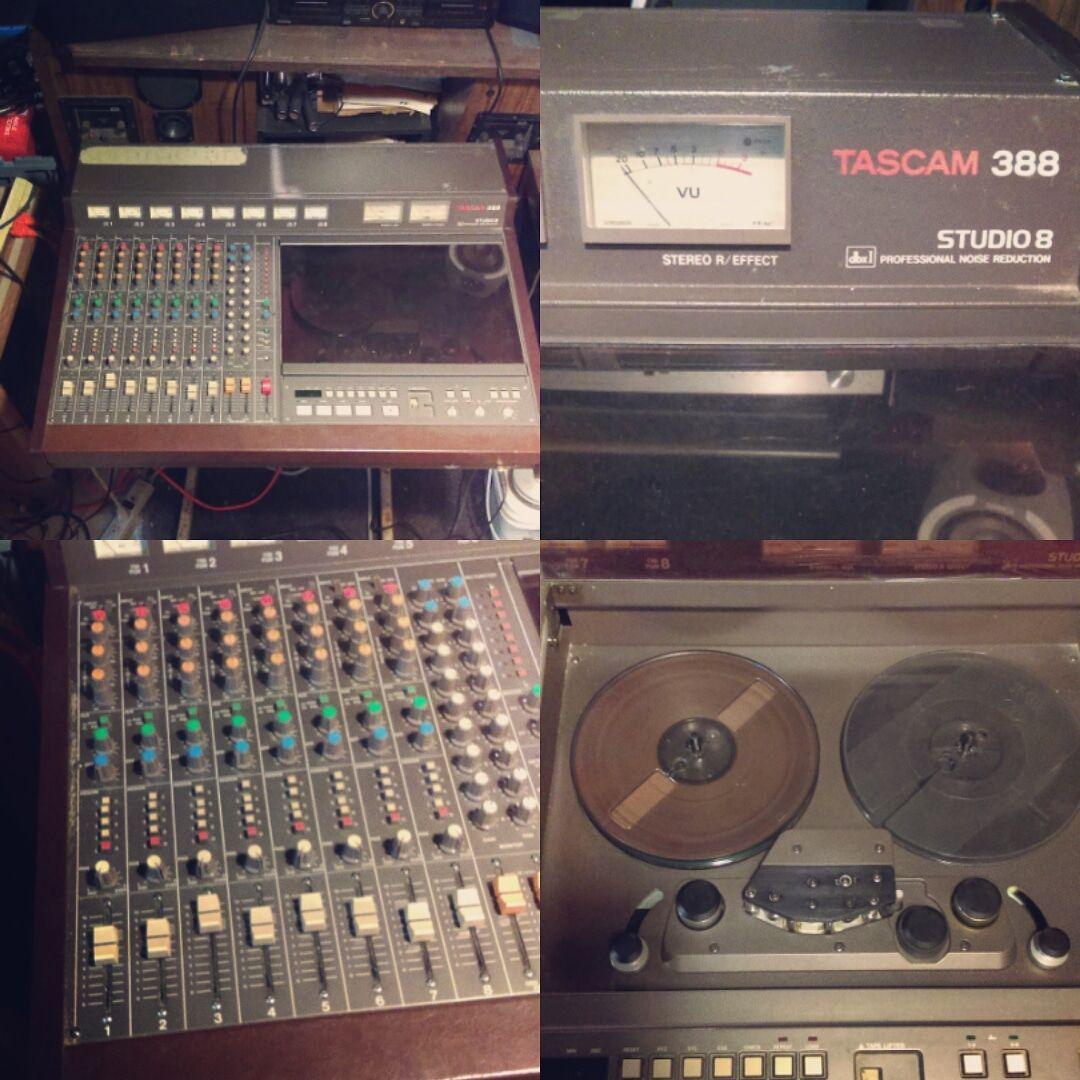 A Tascam 388 Studio 8 Reel To Reel 8 Track 1 4 Inch