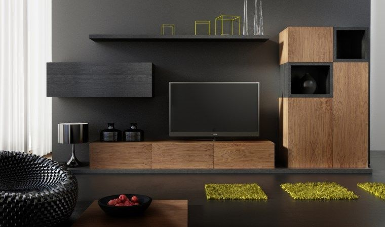 ensemble meuble tv design buffet notte gomar pinterest