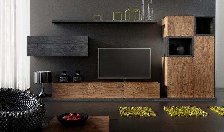 ensemble meuble tv design et buffet