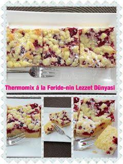 Thermomix A La Feride Nin Lezzet Dunyasi Himbeer Streuselkuchen