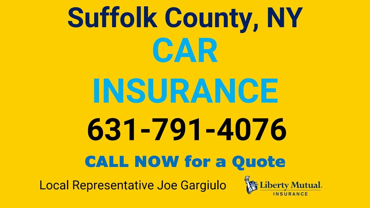 Suffolk County Ny Car Insurance 631 791 4076 In 2020 With Images