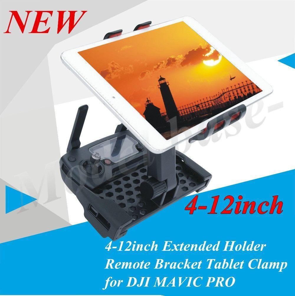 4~12inch Extended Holder Remote Bracket Tablet Clamp For
