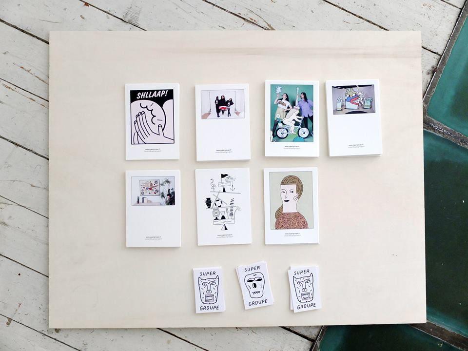 #supergroupe #cartes postales   Édition, Postale et Cartes