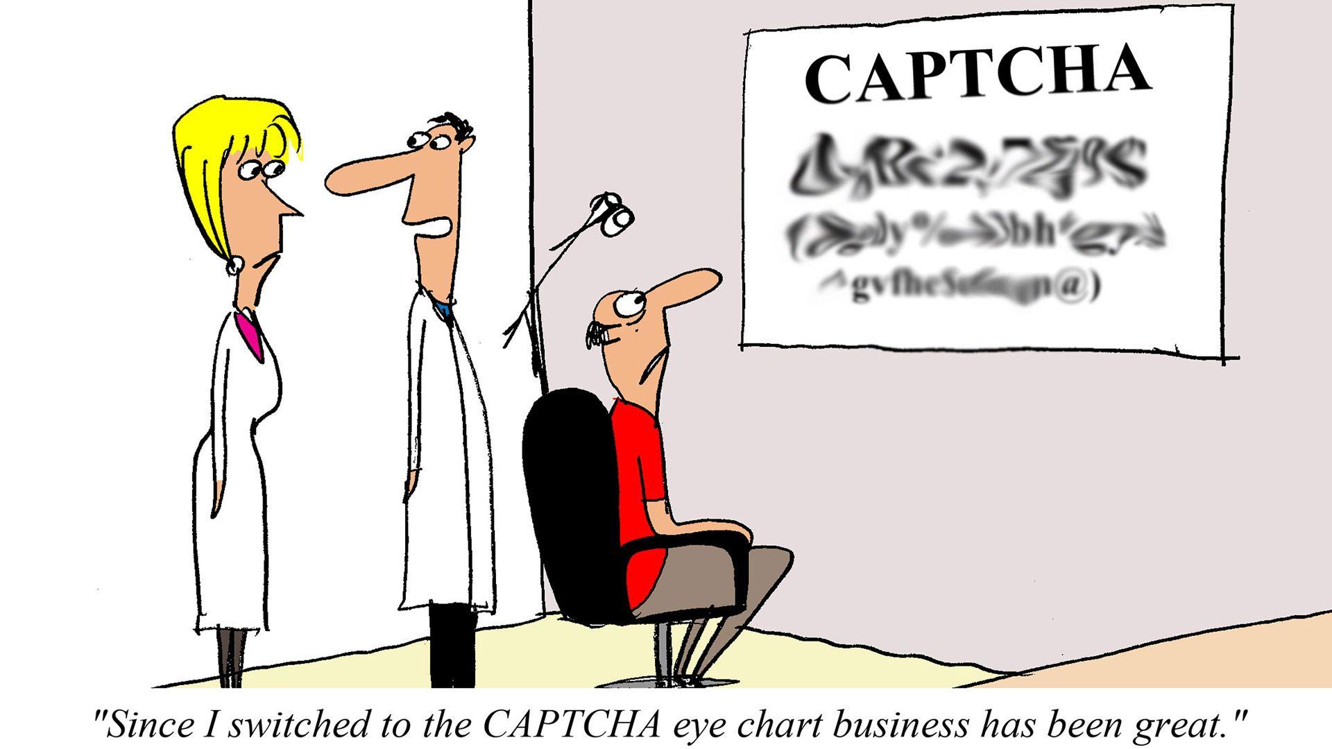 The Real Reason Your Eyesight Stinks Comic Computer Humor Tech Humor Medical Jokes