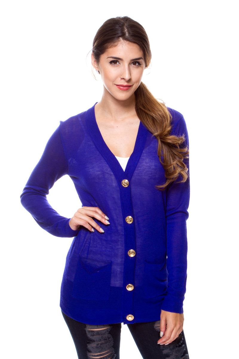 BUTTON DOWN KNIT CARDIGAN $19.00