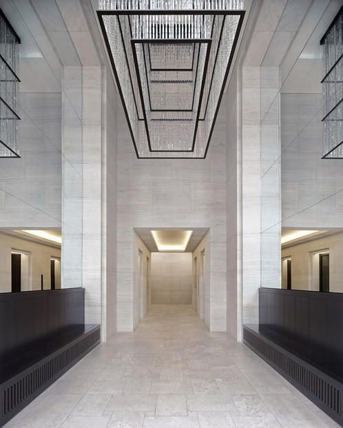 Office Foyer Meaning : Entrance hall of one the office blocks upper