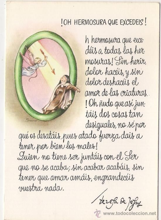 Frases En Imagenes Frases De Santa Teresa De Avila En Comics