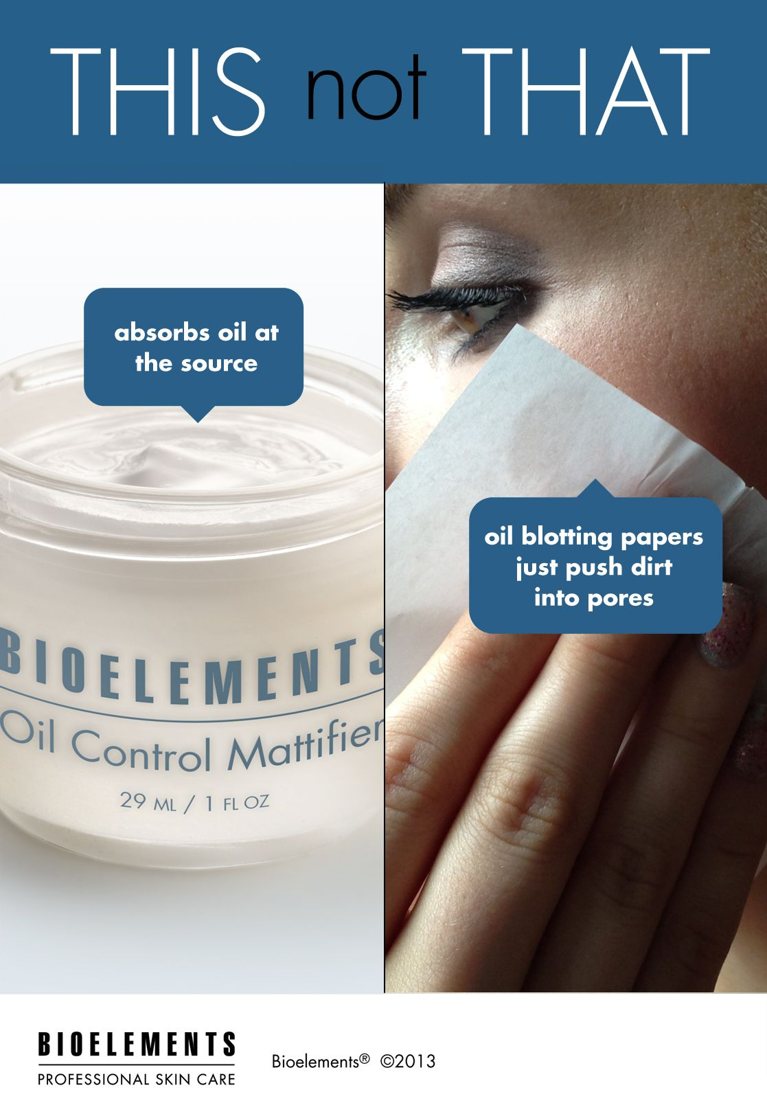 Find a Bioelements Spa Oil control products, Skin care