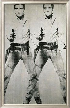 Double Elvis, c.1963 Giclee Print by Andy Warhol at Art.com  He's the King!