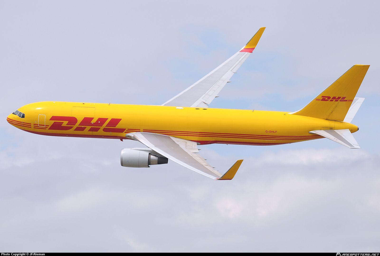G-DHLF DHL Air Boeing 767-3JHF(ER)(WL)
