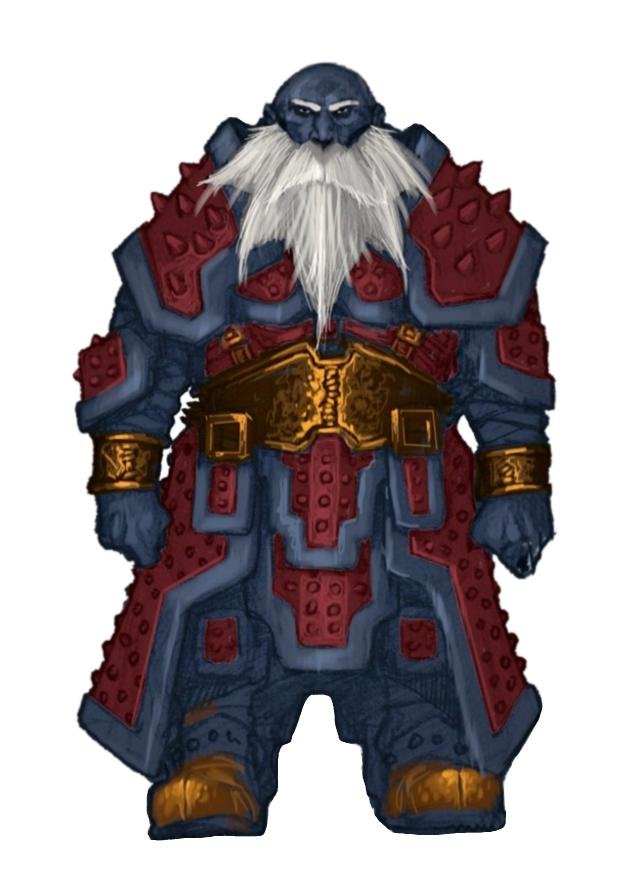 2018 年の male duergar dark dwarf fighter warrior pathfinder