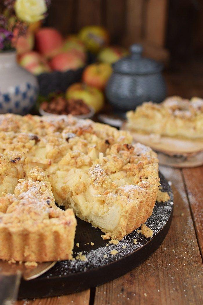Apfel Streusel Kuchen Apple Crumble Cake Pinterest Apple