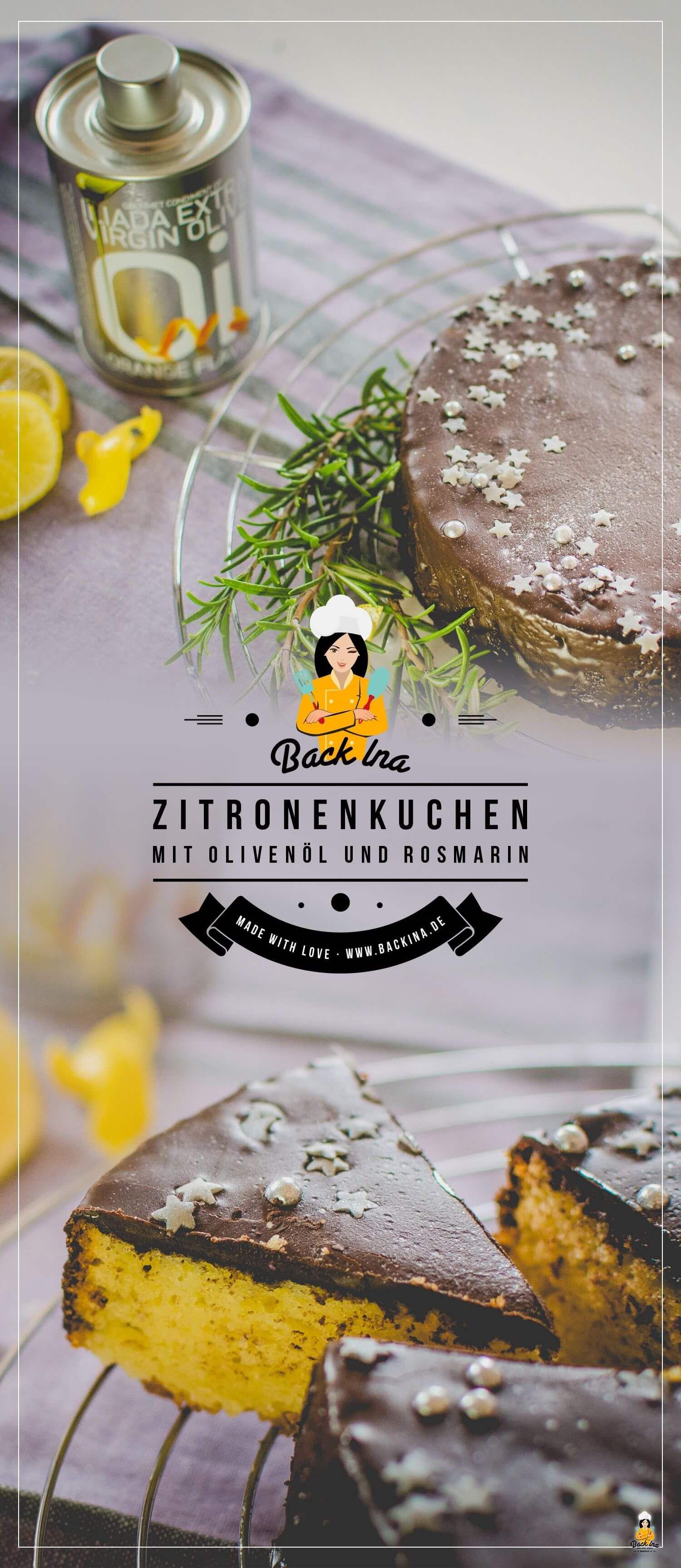 Saftiger Zitruskuchen Mit Olivenol Rosmarin Und Joghurt Backina De Zitruskuchen Zitronen Kuchen Zitronen Kuchen Saftig