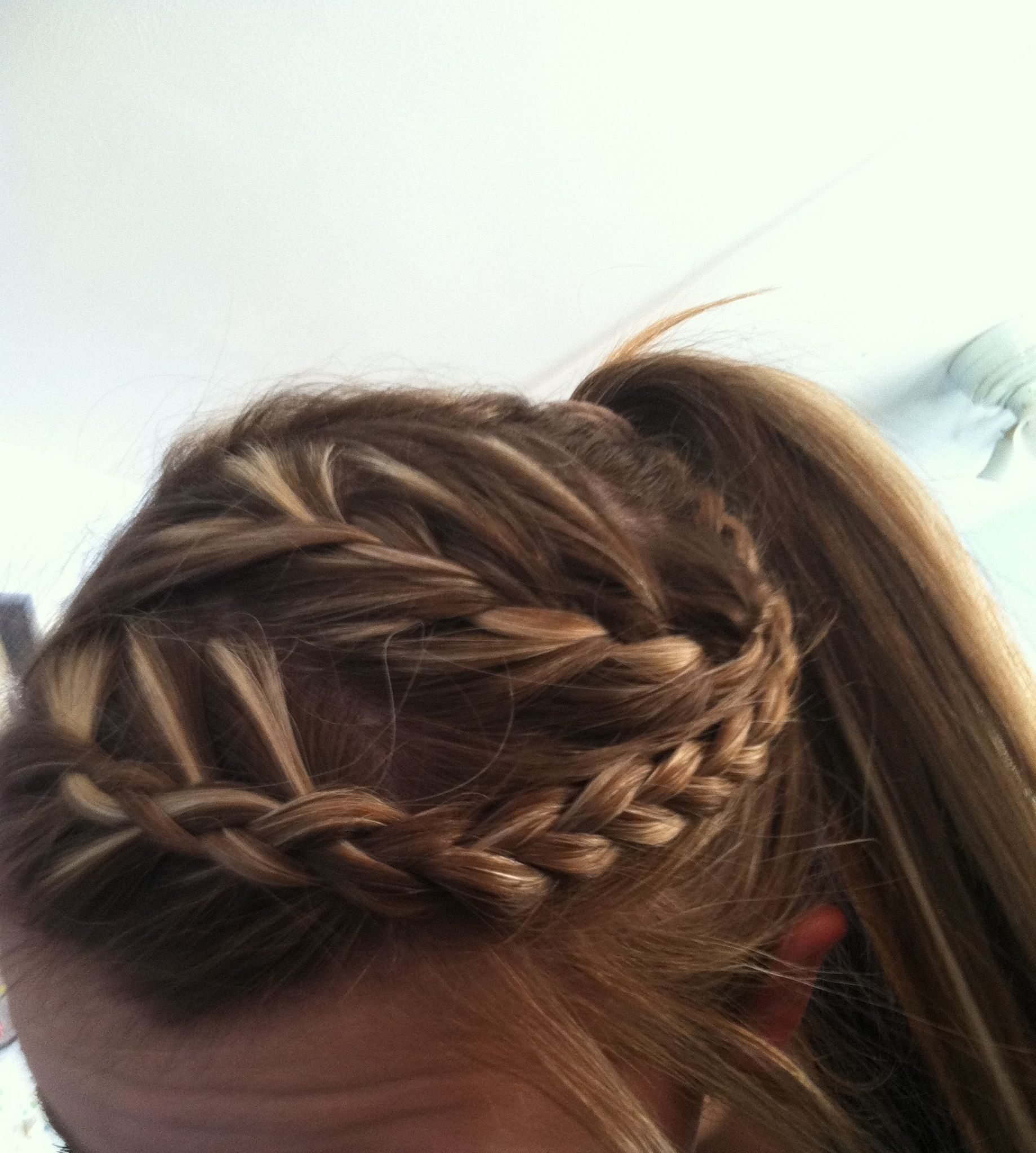Athletic hairstyle hair for track pinterest athletic