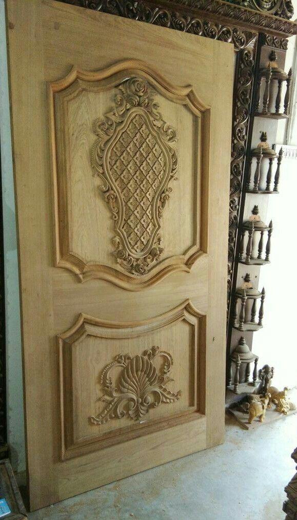 Tamilnadu A1 Interiors Wooden Door Design Door Design Door Gate Design