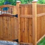 wood fence gate kit