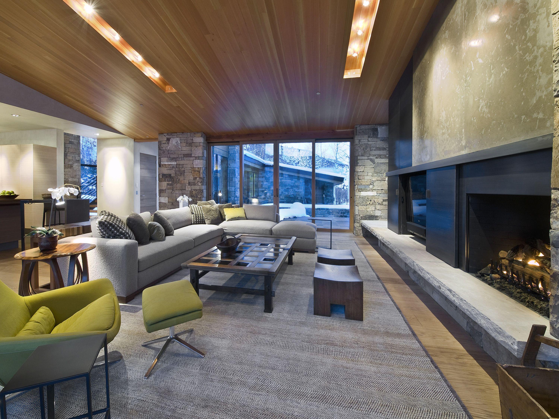 Aspen Interior Designer Robyn Scott Creates A Modern Mountain